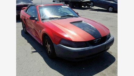 2004 Ford Mustang Convertible for sale 101160049