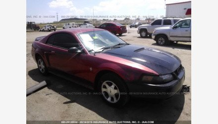 2000 Ford Mustang Coupe for sale 101160136