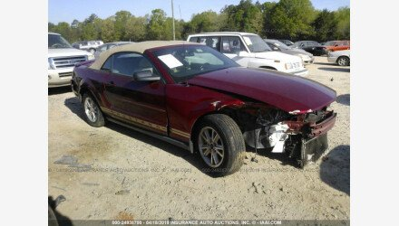 2007 Ford Mustang Convertible for sale 101160168