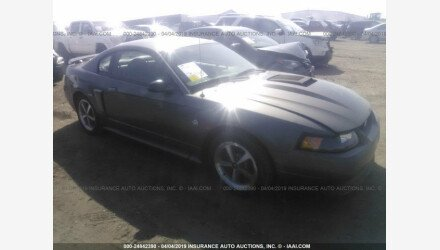 2004 Ford Mustang Mach 1 Coupe for sale 101160225
