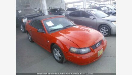 2004 Ford Mustang Convertible for sale 101160227