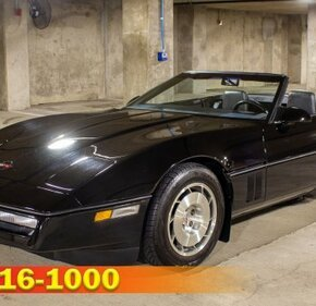 1986 Chevrolet Corvette Convertible for sale 101160543
