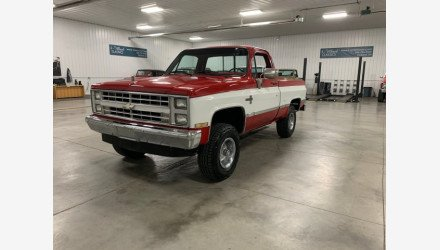 1986 Chevrolet C/K Truck 4x4 Regular Cab 1500 for sale 101160967