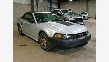 2003 Ford Mustang Convertible for sale 101161036