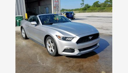 2015 Ford Mustang Convertible for sale 101161114