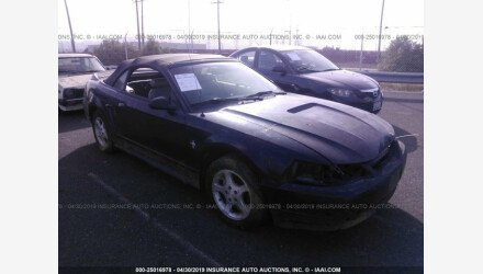 2000 Ford Mustang Convertible for sale 101161180