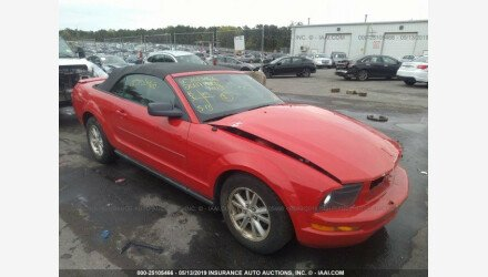 2007 Ford Mustang Convertible for sale 101161292