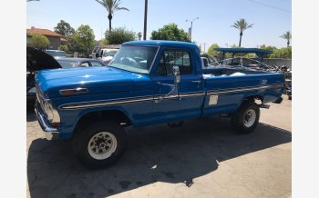 1970 Ford F250 4x4 Regular Cab for sale 101161581