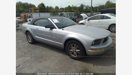2007 Ford Mustang Convertible for sale 101161888