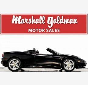 2003 Ferrari 360 Spider for sale 101162239