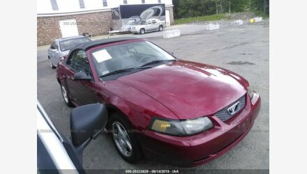 2003 Ford Mustang Convertible for sale 101162414