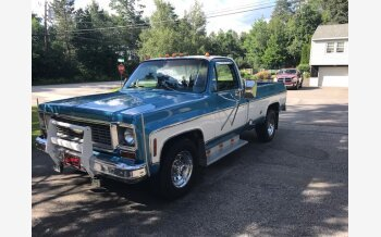 1974 Chevrolet C/K Truck Camper Special for sale 101162615