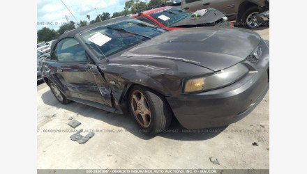 2004 Ford Mustang Convertible for sale 101162809