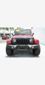 2012 Jeep Wrangler 4WD Unlimited Sahara for sale 101162981