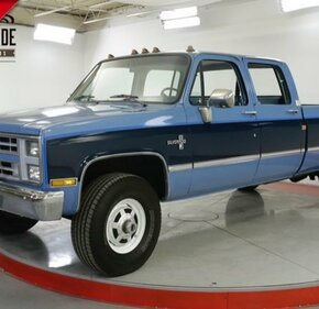 1987 Chevrolet C/K Truck 4x4 Crew Cab 3500 for sale 101163107