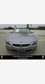 2005 BMW 645Ci Convertible for sale 101163403