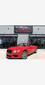 2013 Bentley Continental GT V8 Convertible for sale 101166037