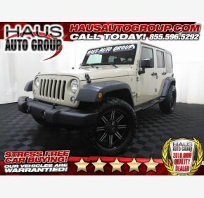 2016 Jeep Wrangler 4WD Unlimited Sport for sale 101166155