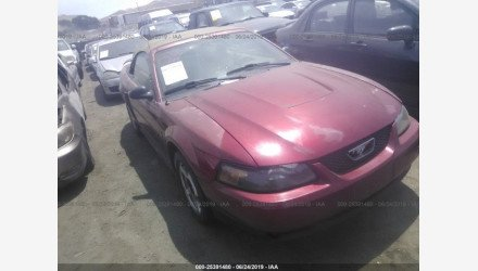 2003 Ford Mustang Convertible for sale 101166413