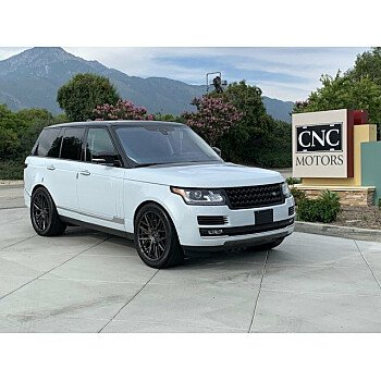 2017 Land Rover Range Rover for sale 101166767