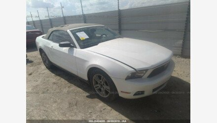 2010 Ford Mustang Convertible for sale 101166852