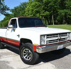 1987 Chevrolet C/K Truck 4x4 Regular Cab 2500 for sale 101167043