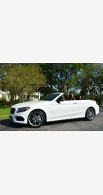 2018 Mercedes-Benz C43 AMG 4MATIC Cabriolet for sale 101167993