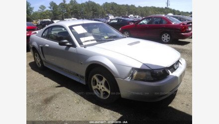 2002 Ford Mustang Coupe for sale 101168181
