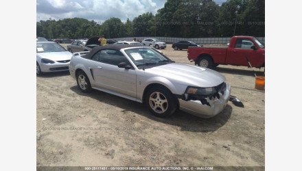 2003 Ford Mustang Convertible for sale 101168193