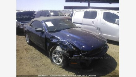 2012 Ford Mustang Convertible for sale 101168215