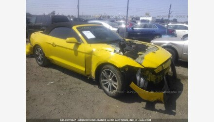 2016 Ford Mustang Convertible for sale 101168348