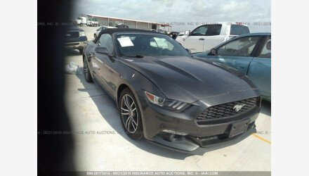 2016 Ford Mustang Convertible for sale 101168349