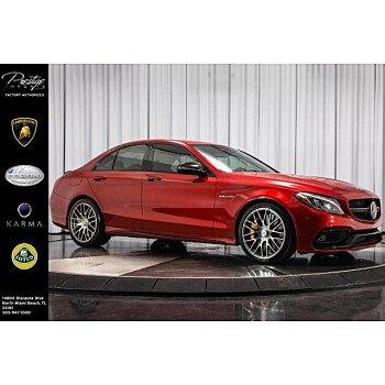 2017 Mercedes-Benz C63 AMG S Sedan for sale 101168465