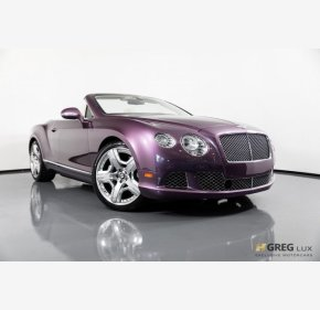 2013 Bentley Continental GT Convertible for sale 101168590
