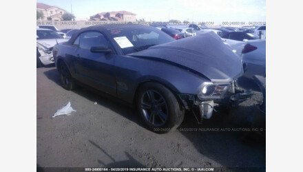 2010 Ford Mustang Convertible for sale 101169004