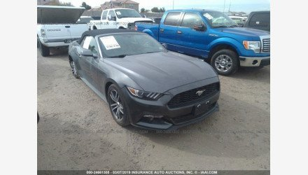 2017 Ford Mustang Convertible for sale 101169095