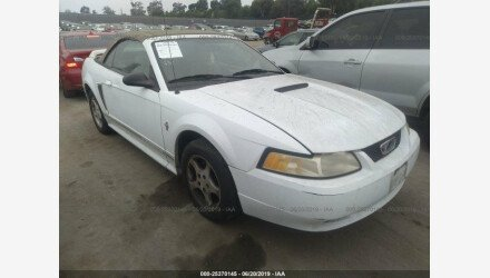 2000 Ford Mustang Convertible for sale 101169808