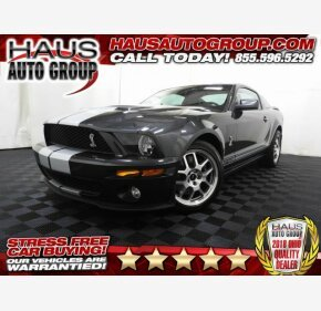 2008 Ford Mustang Shelby GT500 Coupe for sale 101170474