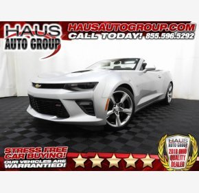 2017 Chevrolet Camaro SS Convertible for sale 101170475