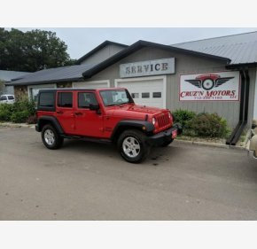 2014 Jeep Wrangler 4WD Unlimited Sport for sale 101170508