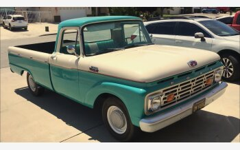1964 Ford F100 2WD Regular Cab for sale 101170614