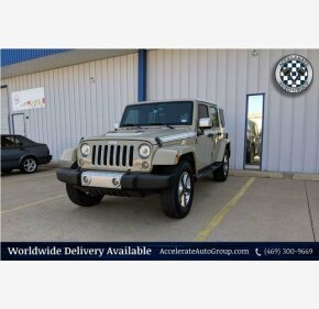 2017 Jeep Wrangler 4WD Unlimited Sahara for sale 101171040