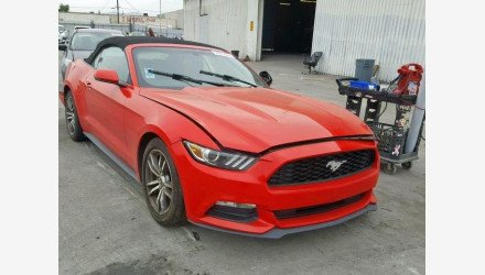 2016 Ford Mustang Convertible for sale 101171371