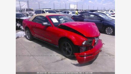 2008 Ford Mustang Convertible for sale 101171475