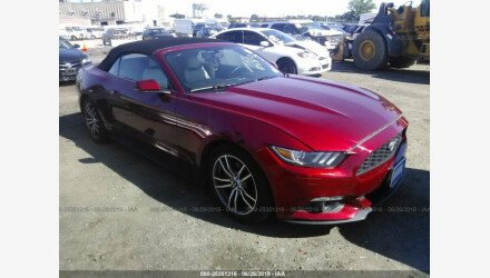 2017 Ford Mustang Convertible for sale 101171533