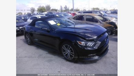 2017 Ford Mustang Convertible for sale 101171536