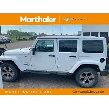 2017 Jeep Wrangler 4WD Unlimited Sahara for sale 101171643