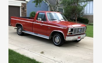 1985 Ford F150 2WD Regular Cab for sale 101171804