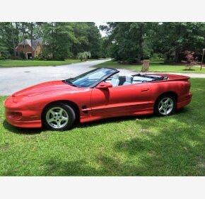 1999 Pontiac Firebird Convertible for sale 101171866