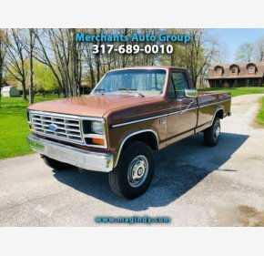 1986 Ford F250 4x4 Regular Cab for sale 101171877